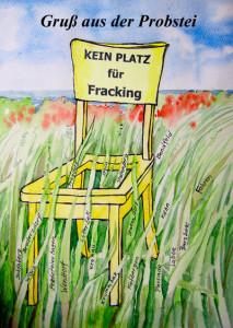 """Die Probstei ist """"Kein Platz für Fracking"""" !"""
